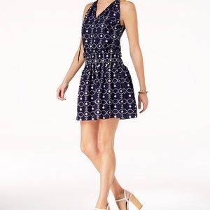 Brand new Michael Kors embroidered dress